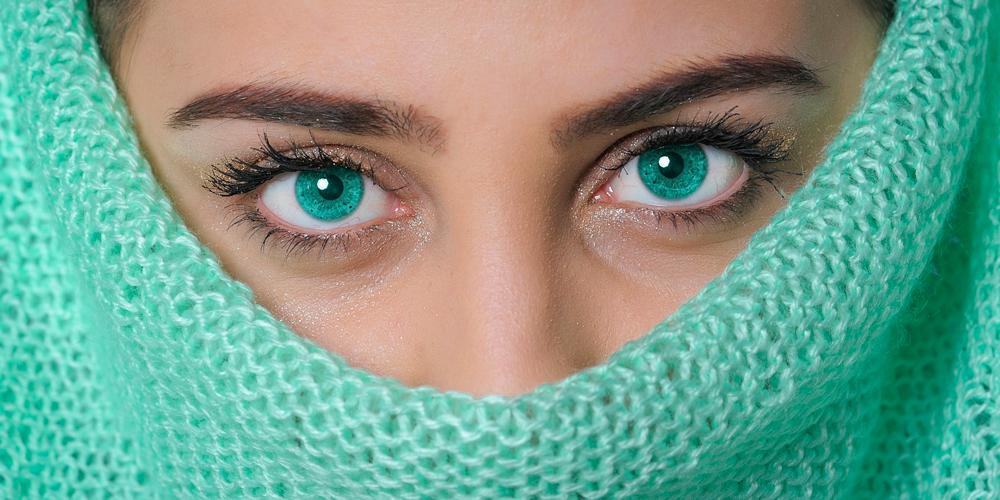 maquillaje casual para ojos verdes