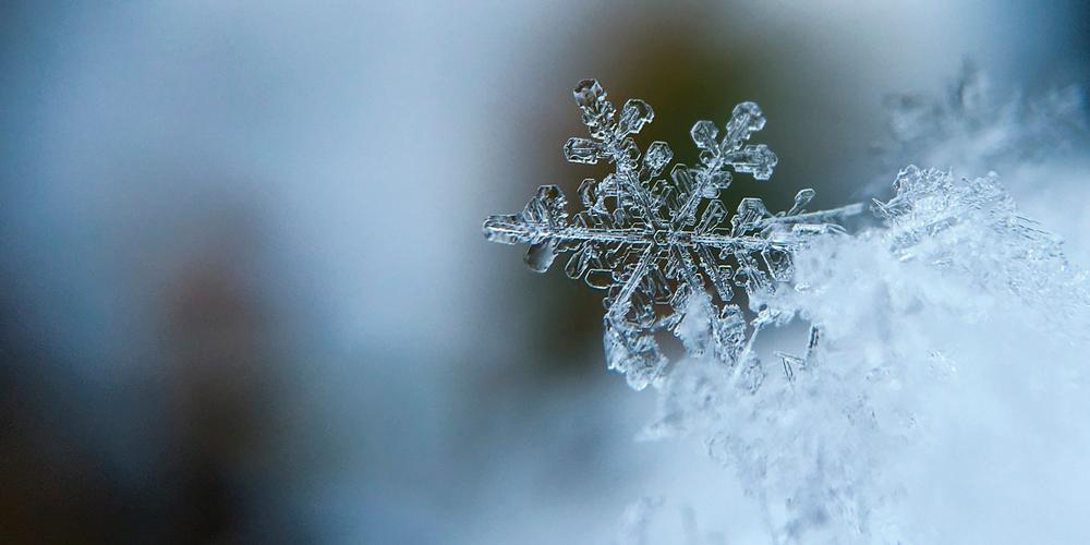 A qué temperatura cae nieve