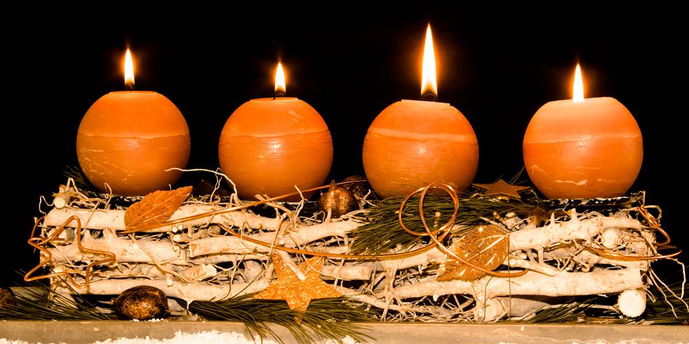 Velas de navidad para decorar