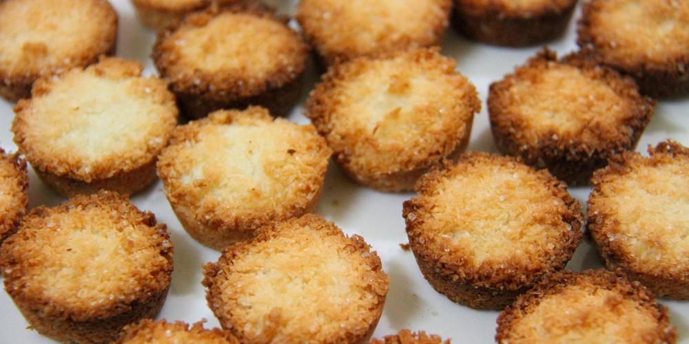 galletas de navidad con coco