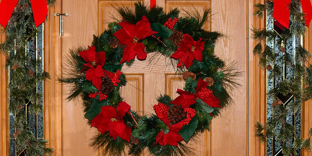 Ideas Originales De Puertas Decoradas De Navidad Adornos