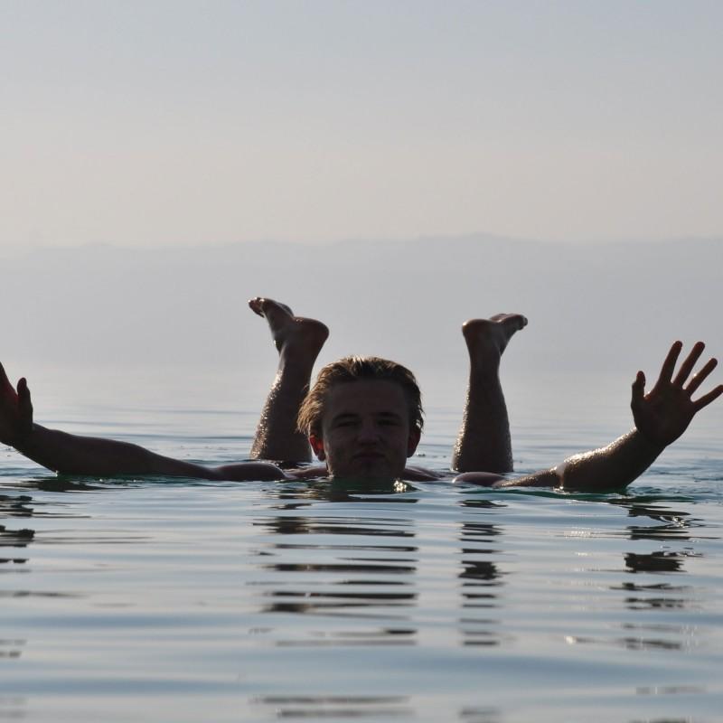 Por qué al Mar Muerto le llaman Mar Muerto