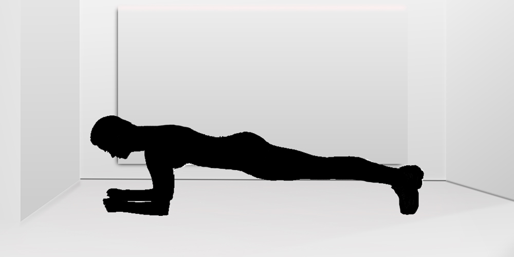cómo hacer plancha abdominal
