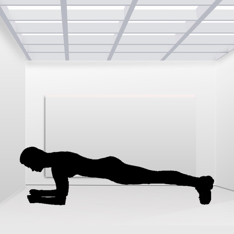 Cómo hacer plancha abdominal para definir músculos y bajar peso